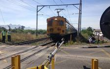FILE: Buttskop Level Crossing. Picture: EWN