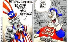 CARTOON: One nation under the gun