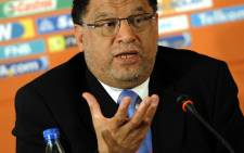 Newly elected Safa president Danny Jordaan says it's time for football to come first in South Africa and not hidden agendas. Picture: AFP/STEPHANE DE SAKUTIN