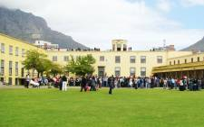 Visitors queue at the Castle of Good Hope in the Cape Town. Picture: castleofgoodhope.co.za
