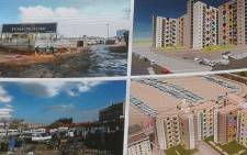 Some of the plans and buildings set to be constructed in and around the City of Johannesburg. Picture: Kayleen Morgan/EWN.