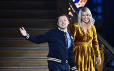 Olympique Lyonnais' Norwegian forward Ada Hegerberg (R) stands past French DJ and producer Martin Solveig gesturing after receiving the 2018 Fifa Women's Ballon d'Or award for best player of the year during the 2018 Fifa Ballon d'Or award ceremony at the Grand Palais in Paris on 3 December 2018. Picture: AFP