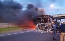 Picture credit: Wayne Dyson, spokesperson - Cape Town law enforcement