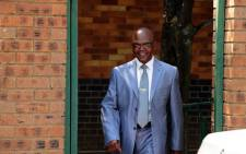Former Crime Intelligence boss Richard Mdluli outside the Boksburg Magistrate's Court. Picture: Supplied.