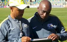 David Notoane, coach of the Olympic U23 squad. Picture: Twitter/@SAFA_net