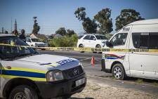 FILE: The bullet-ridden taxi in Blue Downs after police mistakenly opened fire on it, killing two of the occupants. Picture: Thomas Holder/EWN