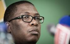 FILE: ANC Gauteng deputy provincial chairperson Panyaza Lesufi says the days of unprincipled coalitions are over and has called for fresh elections in Tshwane and Joburg. Lesufi was briefing the media at the ANC offices in Ghandi Square Johannesburg CBD on 26 August 2018. Picture: Sethembiso Zulu/EWN