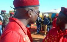 The Economic Freedom Fighters' Julius Mdluli. Picture: Julius Mdluli Facebook page.