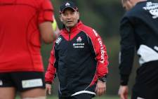 The Japan coach Eddie Jones. Picture: JRFU Facebook page.