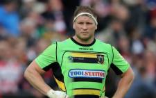 Northampton Saints hooker and England captain Dylan Hartley. Picture: Supplied