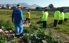 The corpse of a child was discovered in Grassy park on 1 August. The body is located in the same vicinity where a three-year-old child went missing earlier this week. Picture: Lauren Isaacs/EWN