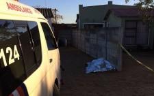 A 21-year-old man was shot dead in Scottsdene, Cape Town, on 28 June 2016. Picture: ER24