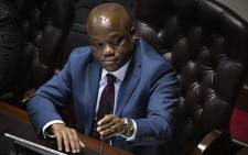FILE: KwaZulu-Natal Premier Sihle Zikalala in the provincial legislature on 22 May 2019. Picture: Sethembiso Zulu/EWN