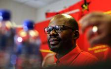 South African Communist Party's Solly Mapaila during a media briefing in Johannesburg on the 17 October 2017. Picture: Sethembiso Zulu/EWN