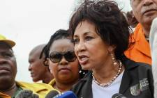 Human Settlements Minister Lindiwe Sisulu. Picture: Facebook.
