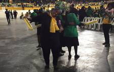 ANC supporters gathered at the Bellville Velodrome during an election campaign on 31 July 2016. Picture: Natalie Malgas/EWN.