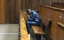 Sandile Mantsoe awaits judgment in his murder trial on 2 May 2018. Picture: Kgomotso Modise/EWN