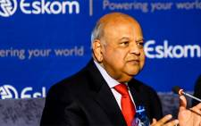 Public Enterprises Minister Pravin Gordhan briefs the media on 23 July 2018. Picture: Kayleen Morgan/EWN