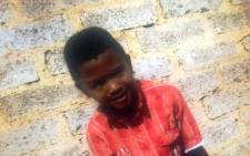 A photograph of  10-year-old Siphamandla Madikane. The boy was murdered and possibly raped and his half burned body was found in Ramaphosa on 4 November. Picture: Supplied.