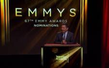 FILE: 67th EMMY awards nominees announcement.Picture CNN/screengrab