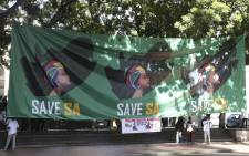 Save South Africa hosted a real state of the nation address in Cape Town. Picture: Cindy Archillies/EWN