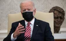 FILE: US President Joe Biden on February 17 2021. Picture: Saul Loeb / AFP.