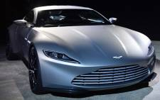 The Aston Martin DB10. Picture: AFP.