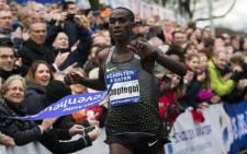 Ugandan runner Joshua Cheptegei. Picture: @joshuacheptege1/Twitter