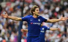 Chelsea's Marcos Alonso. Picture: @ChelseaFC/Twitter.