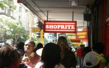 FILE: A Shoprite store in central Johannesburg. Picture: EWN