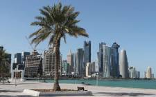 A general view taken on 5 June 2017 shows the corniche in Doha. Arab nations including Saudi Arabia and Egypt cut ties with Qatar, accusing it of supporting extremism, in the biggest diplomatic crisis to hit the region in years. Picture: AFP