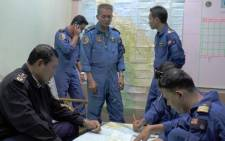 FILE: Malaysian Maritime Enforcement personnel during search and rescue operations in Terengganu for the missing Malaysia Airlines Boeing 777-200. Picture: AFP.