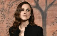 FILE: British actress Keira Knightley. Picture: AFP.