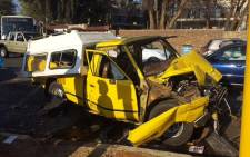 Eleven people were injured during an accident on Jan Smuts Drive in Parkview, Johannesburg on 19 August 2015. Picture: Supplied.