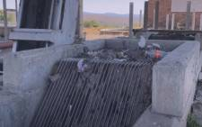 Filth and litter clogs infrastructure in the town of Lydenburg in the Thaba Chweu municipality in Mpumalanga. Picture: Eyewitness News