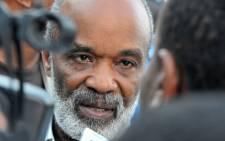 Former Haitian President Rene Preval. Picture: AFP