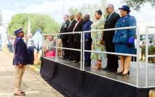 The Road Traffic Management Corporation together with the transport department remembered officials killed in the line of duty. Picture: Dineo Bendile/EWN.