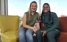 Springbok Women's Sevens captain, Zintle Mpupha chats to us about her road to Sevens Rugby. Picture: Bertram Malgas/EWN