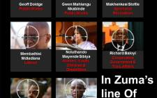 In Zuma's line of fire