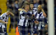West Bromwich Albion's Diego Lugano equalised in the 75th minute with a near-post header. Picture: Facebook.