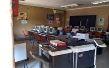Esithebeni Primary School in Soweto was broken into on Friday, 4 October 2019 and over R3 million worth of equipment was stolen. Picture: Supplied