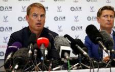 New Crystal Palace manager Frank de Boer. Picture: www.cpfc.co.uk
