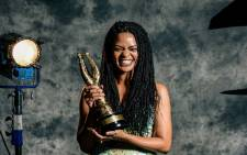 Crystal-Donna Roberts wins the Safta for Best Actress in a Feature Film. Picture: Saftas.