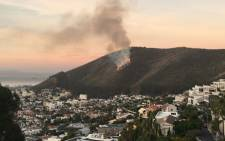 A fire broke out on Signal Hill on 13 April 2016. Picture: Natalie Malgas/EWN.
