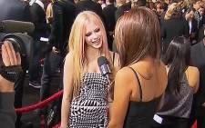 A screengrab of singer Avril Lavigne. Picture: CNN
