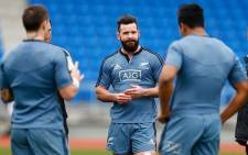 Ryan Crotty at this weeks practice ahead of his first test start on 19 August 2014. Picture: Official All Blacks Facebook page.