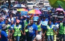 The Democratic Alliance's Rain Network march on 27 November 2018. Picture: @DA_LGBTI/Twitter