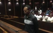 Sibusiso Mpungose appears in the Pietermaritzburg High Court on 6 November 2019. Picture: Nkosikhona Duma/EWN