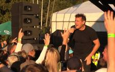 """White Zulu"" Johnny Clegg wowed audiences at the Pretoria Botanical Garden's on Sunday. Picture: Vumani Mkhize/EWN"