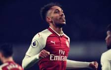 Arsenal's new signing Pierre-Emerick Aubameyang. Picture: Twitter @Arsenal.